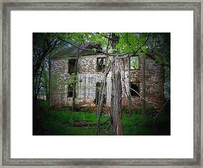 This Old House Framed Print by Joyce Kimble Smith