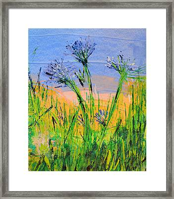 Thistles One Framed Print