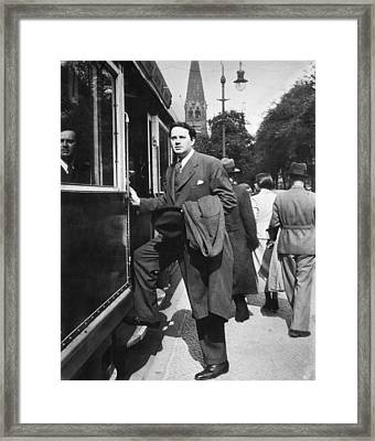 Thomas Wolfe (1900-1938) Framed Print by Granger
