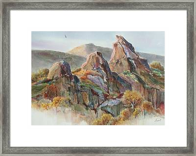 Three Sisters Framed Print by Don Trout