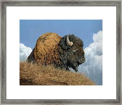 Thunder Beast Framed Print