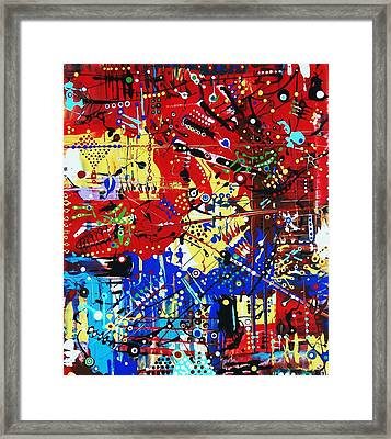 Thursdays Can Be So Complicated Framed Print