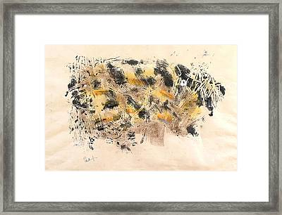 Tiger Fish Framed Print by Thomas Armstrong