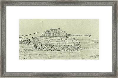 Tiger II Framed Print