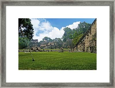 Tikal, Guatemala Framed Print by Marius Sipa