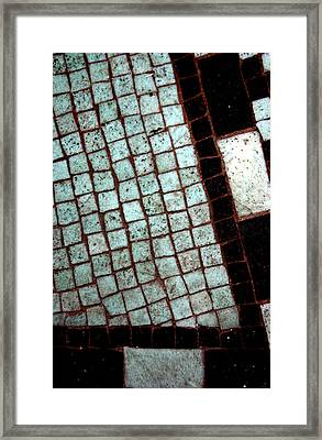 Tiled Framed Print by Jez C Self