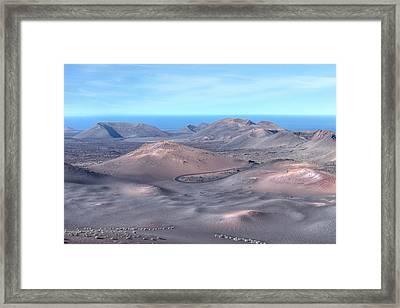 Timanfaya - Lanzarote Framed Print by Joana Kruse