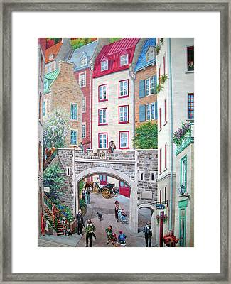 Framed Print featuring the photograph Time ... by Juergen Weiss