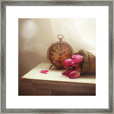 Framed Print featuring the photograph Time Stood Still by Amy Weiss
