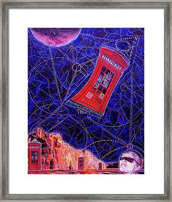 Time Traveler Framed Print by Dominic Piperata