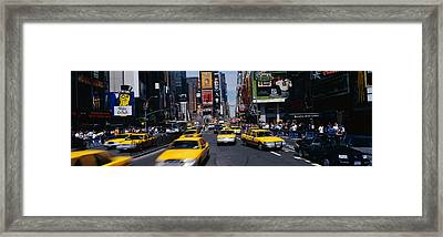 Times Square New York Ny Framed Print