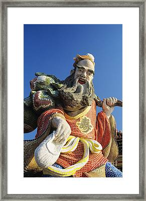 Tin Hua Temple Framed Print by Gloria & Richard Maschmeyer - Printscapes