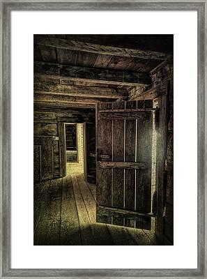 Tipton Cabin Framed Print
