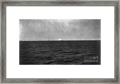 Titanic: Iceberg, 1912 Framed Print