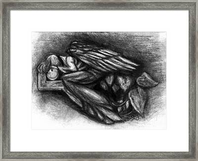 To Much To Bare Framed Print by Elizabeth Guilkey