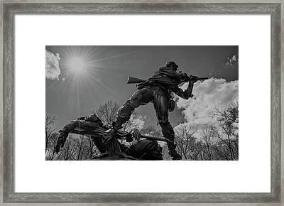 To The Death Framed Print by Kat Zalewski-Bednarek
