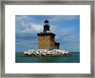 Toledo Harbor Lighthouse Framed Print