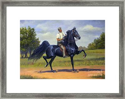 Tom Bass And Rex Mcdonald Framed Print by Jeanne Newton Schoborg