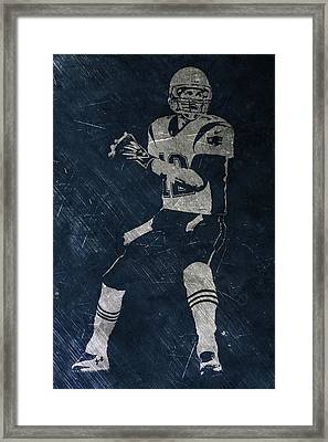 Tom Brady Patriots 2 Framed Print