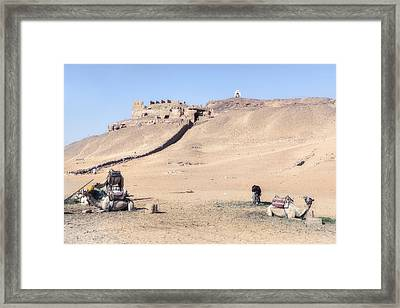 Tombs Of The Nobles - Egypt Framed Print