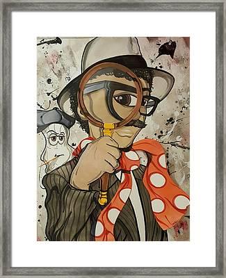 Tony Bibbles Framed Print by Demitrius Bullock