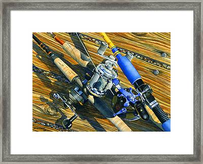 Tools Of The Troll Framed Print by Mark Jennings