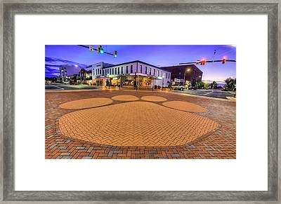 Toomer's Corner Framed Print by JC Findley