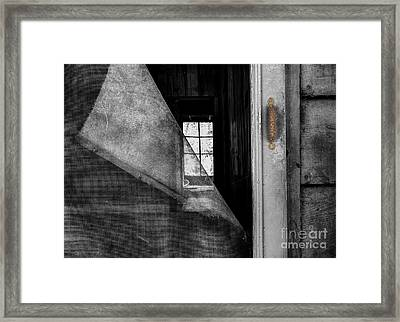 Torn Framed Print by Michael Eingle