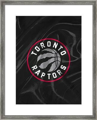 Toronto Raptors Framed Print