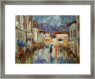 Tourists Framed Print by Debra Hurd