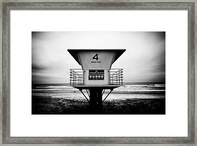Tower 4 Framed Print by Tanya Harrison