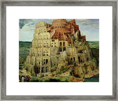 Tower Of Babel Framed Print
