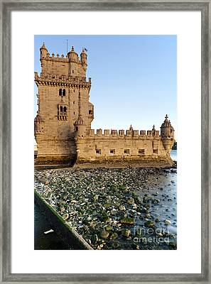 Tower Of Belem Framed Print by Andre Goncalves
