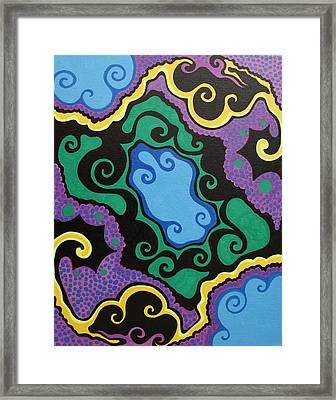 Toxic Framed Print by Mandy Shupp