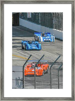Toyota Long Beach Grand Prix Framed Print