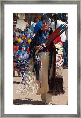 Traditional Lady Dancer Framed Print by Tim McCarthy