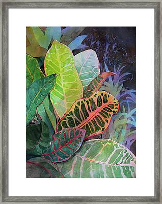 Framed Print featuring the painting Trailblazers by Kris Parins