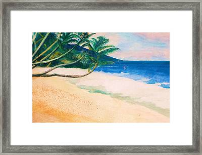 Tranquility Framed Print by Anne-elizabeth Whiteway
