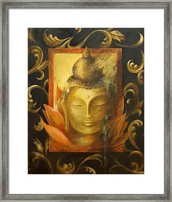 Framed Print featuring the painting Transcendence by Dina Dargo