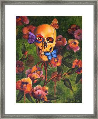 Transformation Framed Print by Wendi Curtis