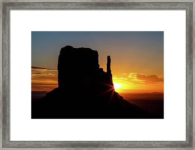 Transition  Framed Print by James Marvin Phelps