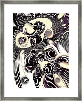 Perceptive Formation Framed Print by Carmen Fine Art