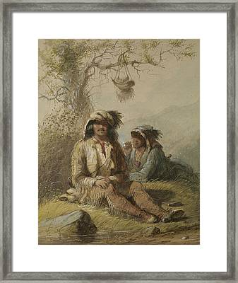Trappers Framed Print