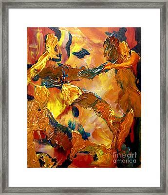 Tree Toil Framed Print by Karen L Christophersen