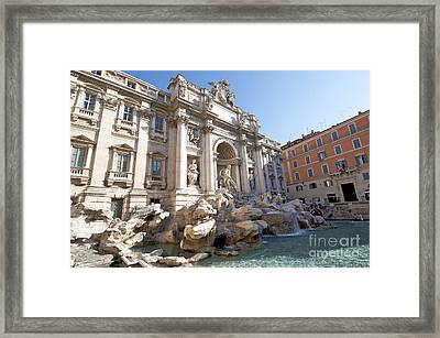 Trevi Fountain. Rome Framed Print