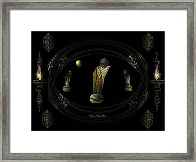 Tribute To King Midas Framed Print by Ricky Kendall