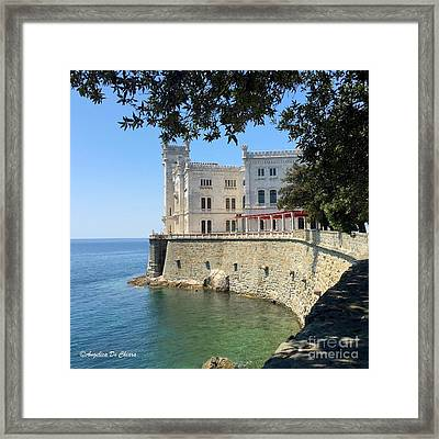 Trieste Miramare Castle Framed Print by Italian Art