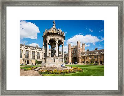 Trinity Framed Print by Andrew  Michael