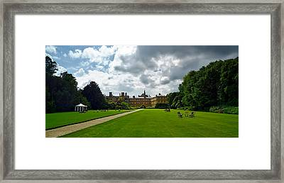 Trinity College - Oxford Framed Print by Barry Marsh