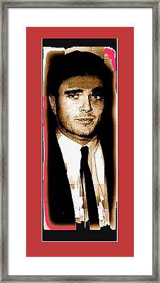 Triple Murderer Charles Schmid Not In Makeup Tucson Arizona Collage Circa 1966-2013  Framed Print by David Lee Guss